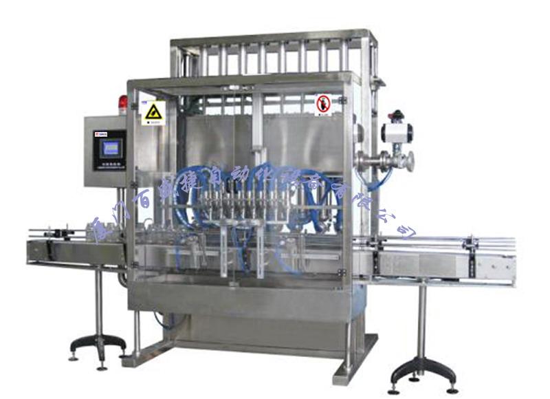 泵缸式液体灌装机